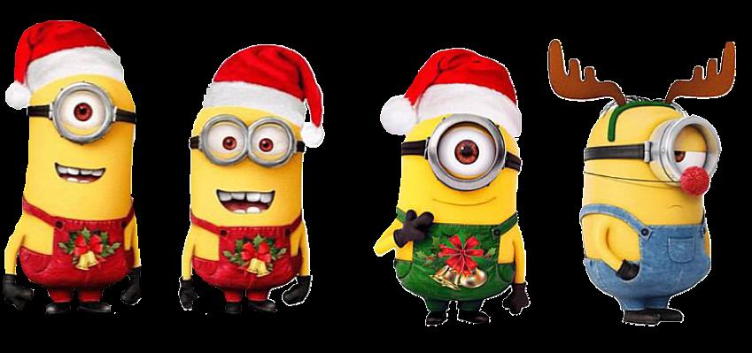 クリスマス ミニオン イラスト