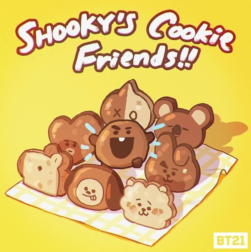 キャラクター 全員 キャラ bts クッキー