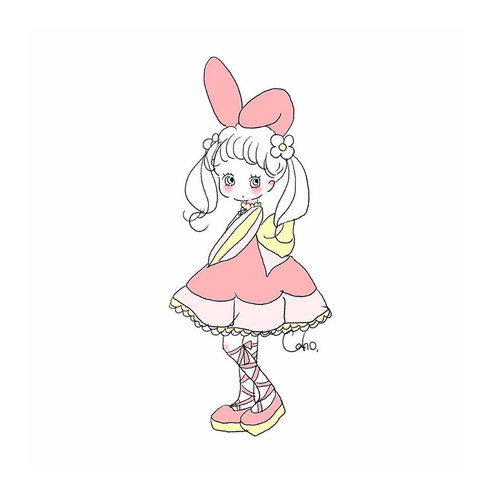 キャラクター可愛いイラスト