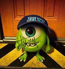 モンスターズインク マイク STUSSY ディズニーの画像(stussyに関連した画像)