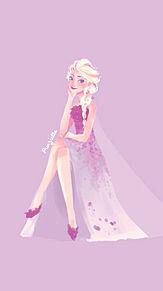 Elsa プリ画像