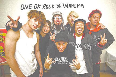 ONE OK ROCK × WANIMAの画像(プリ画像)