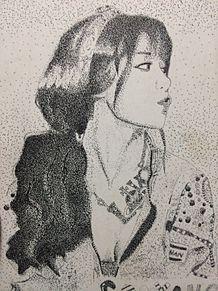 スヨン点描画の画像(点描画に関連した画像)
