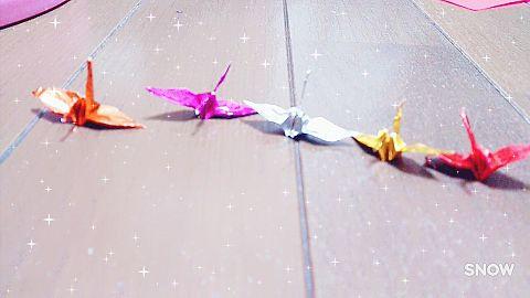 超ミニミニ鶴の画像(プリ画像)