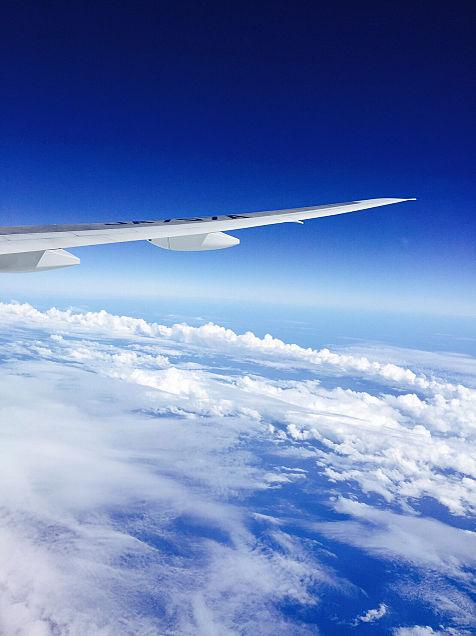 飛行機からの眺めの画像 プリ画像