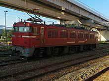 元国鉄ED76型交流電気機関車