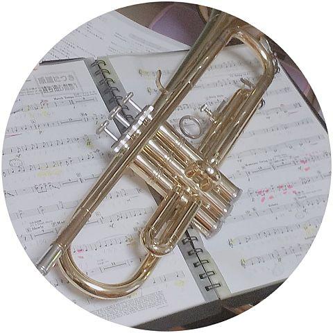 吹奏楽トランペットの画像 プリ画像