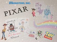 Pixar落書き。の画像(モンスターズ・インクに関連した画像)