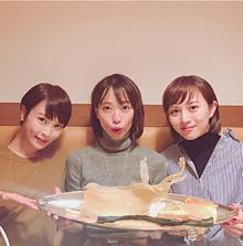 清川あさみ、戸田恵梨香、比嘉愛未ーかわいいーーー!