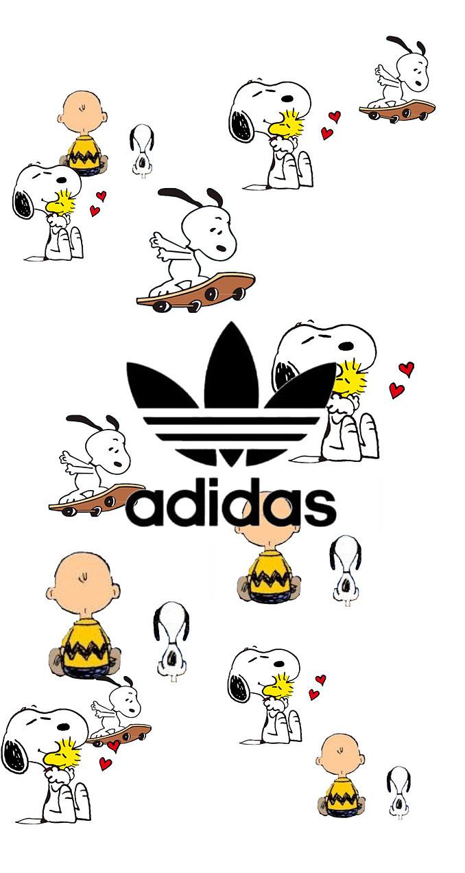 Adidas スヌーピー Iphone壁紙 50454868 完全無料画像検索のプリ画像