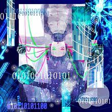 電脳ガール プリ画像