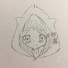 猫耳フード♡の画像(プリ画像)