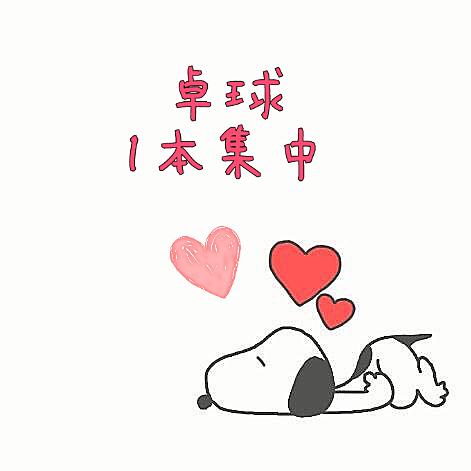 卓球loveの画像(プリ画像)