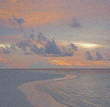 海 空 夕日 雲 綺麗の画像(シンプル オシャレ 壁紙に関連した画像)