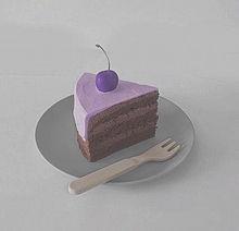 紫色のさくらんぼの画像(紫色に関連した画像)
