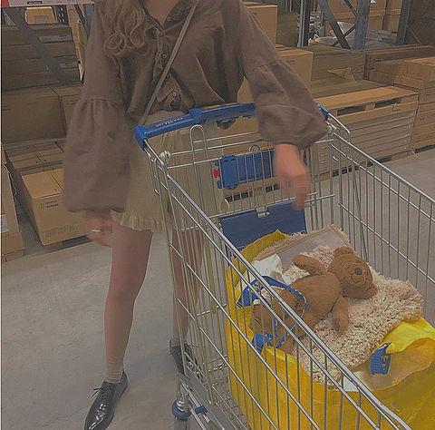 IKEA イケア Costco コストコ 顔隠し ブレブラウンの画像(プリ画像)