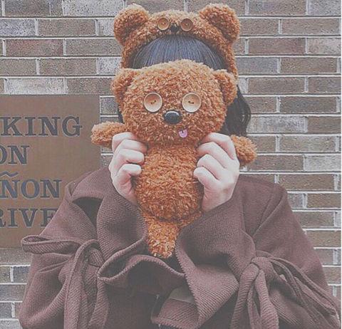 ミニオン ボブ ブラウン モデル 青春 友達 量産型 クマの画像(プリ画像)
