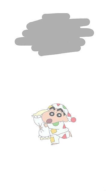 しんちゃん ホーム 画面 クレヨン
