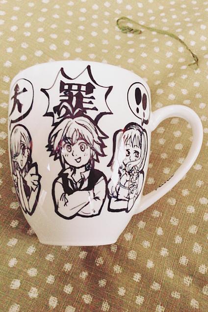 七つの大罪 手作りマグカップの画像(プリ画像)
