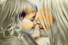 母と子の画像(プリ画像)