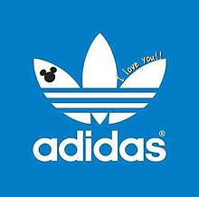 adidas ペア画 ミッキー ミニー