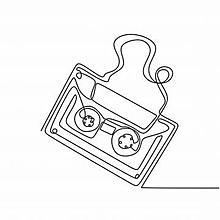 カセットテープの画像(テープに関連した画像)