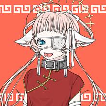 チャイナ娘の画像(自傷行為に関連した画像)