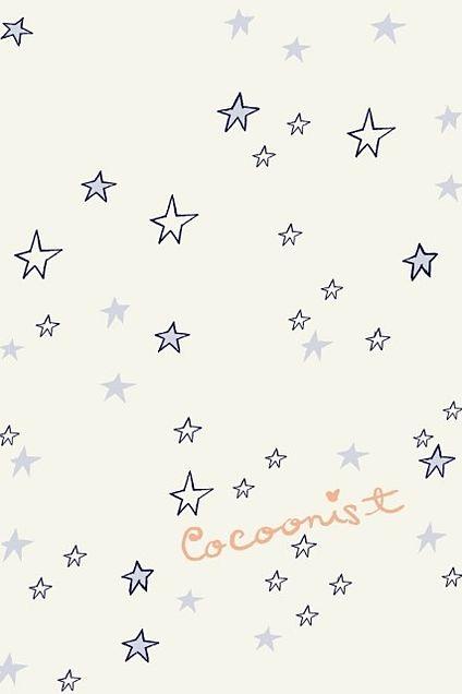 星柄スター☆パターン 【スマホ待ち受け壁紙】iphoneホーム画面