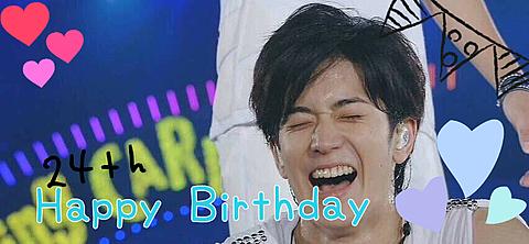 ゆうてぃ  Happy Birthdayの画像(プリ画像)