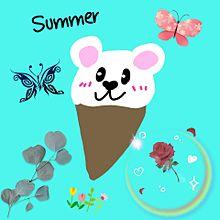 可愛いアイスクリーム 動物 手作り画の画像(アイスに関連した画像)
