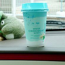 ホワイトショコラミント 飲み物 チョコミントの画像(飲み物に関連した画像)