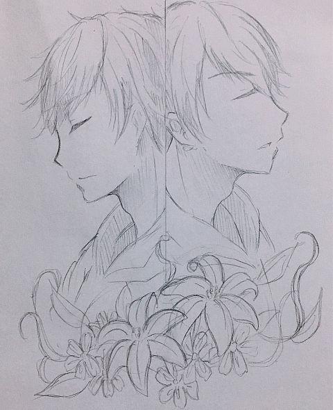 花と色松の画像(プリ画像)
