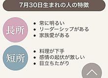誕生日の画像(7月に関連した画像)