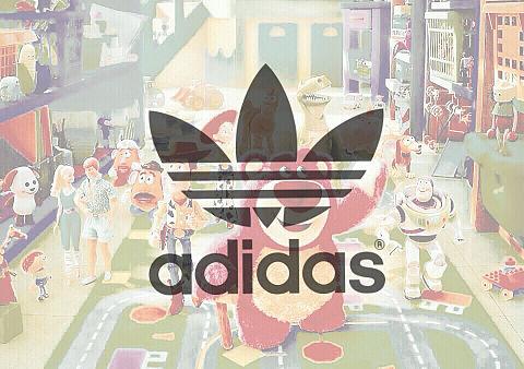 adidas &toyrtoryの画像(プリ画像)