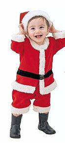 サンタクロース姿の子供 かわいいの画像(サンタクロースに関連した画像)