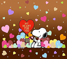 かわいいスヌーピー バレンタイン おしゃれの画像(バレンタインに関連した画像)