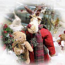 クリスマスのぬいぐるみ 画像右下のハートを押してね プリ画像