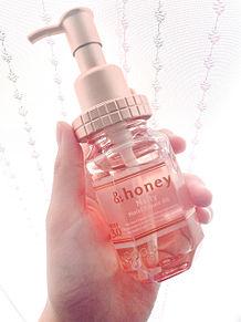 &honeyのヘアオイル♡の画像(honeyに関連した画像)