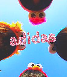 adidas ペア画の画像(プリ画像)