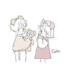 caho♡の画像(可愛いイラストに関連した画像)