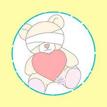 red bear&pink bearの画像(bearに関連した画像)