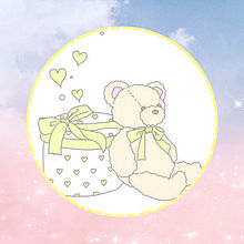 red bear&yellow bearの画像(bearに関連した画像)
