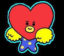 BT21♡の画像(tataに関連した画像)
