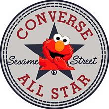 コンバースオールスター×セサミストリートの画像(プリ画像)