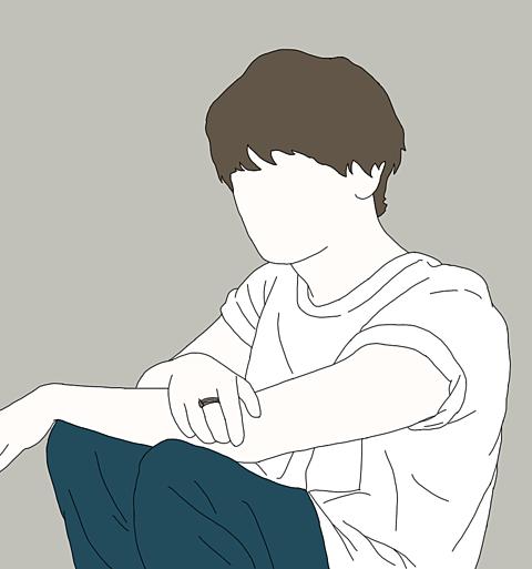 知念侑李 線画の画像(プリ画像)