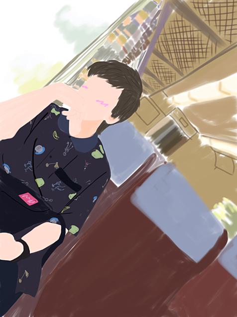 ーとしみつー……一人旅…??の画像(プリ画像)