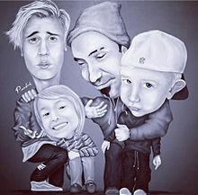 ジャスティンビーバーの家族の画像(プリ画像)