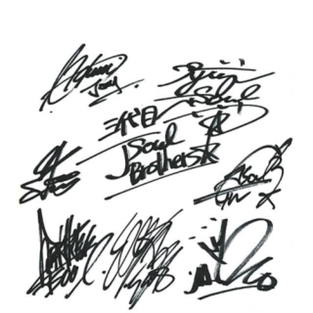 三代目JSB サインの画像(プリ画像)
