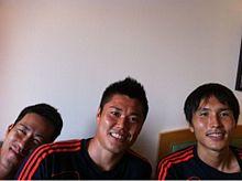 サッカー日本代表 吉田麻也 川島永嗣 前田遼一 プリ画像