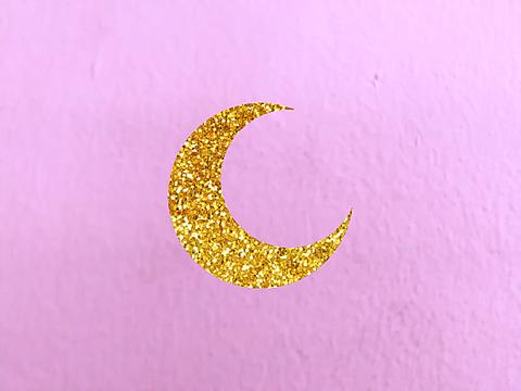 キラキラお月様の画像(プリ画像)